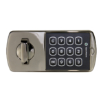 kcolefas l.h. electronic cabinet lock 30540