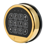 kcolefas electronic safe lock entry 30200, brass finish