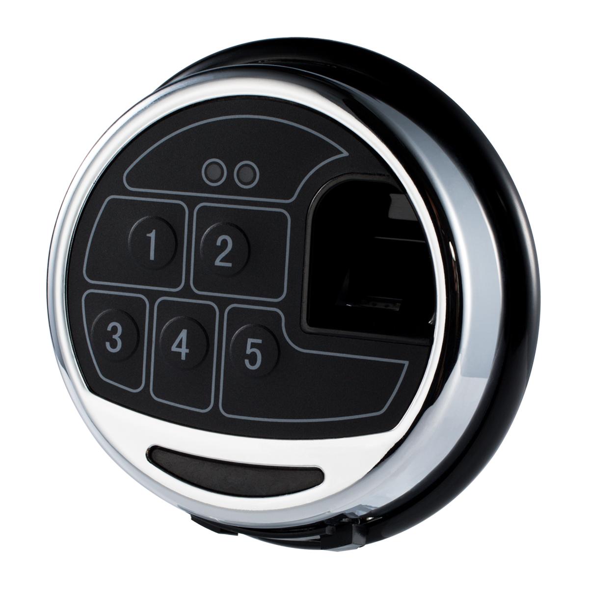 kcolefas electronic safe lock entry 30271 with fingerprint input