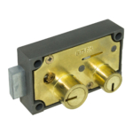 kcolefas r.h. brass finish safe deposit lock 30401