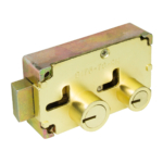 kcolefas r.h. brass finish safe deposit lock 30402