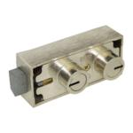 kcolefas nickel plated safe deposit lock 30420