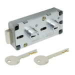 kcolefas u.l. listed key changeable safe deposit lock 30430 with key