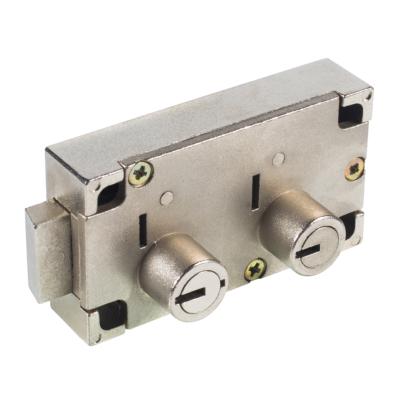 kcolefas r.h. safe deposit lock 30431 nickle plated