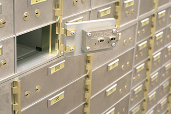 high security certificated safes and bank vault, safe deposit box solutions