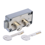 kcolefas u.l. listed right hand safe deposit lock 30432 with key