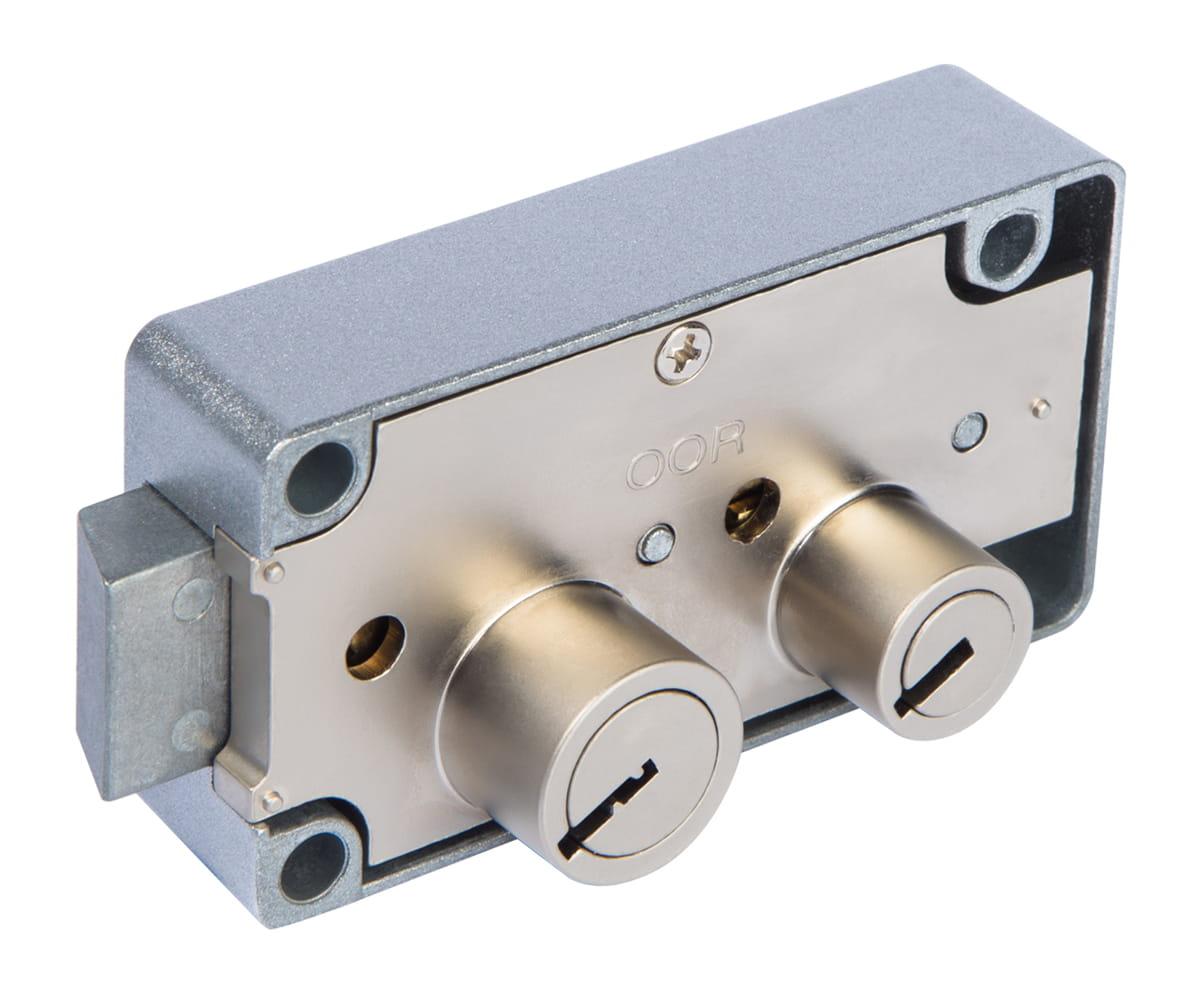 typical safe deposit lock